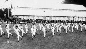 Fête fédérale à St-Gall en 1922