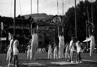La société aux anneaux à la fête fédérale de Berne en 1967