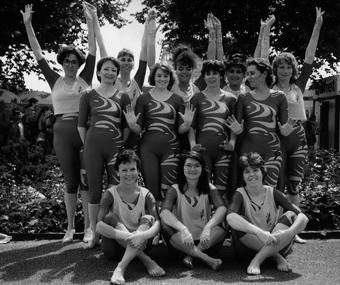 Le groupe actives à la fête fédérale de Berne en 1996